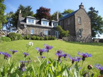 Kirklandbank Farmhouse from front garden